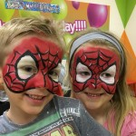 Just Crafty Kids facepainting Face painting party add ons Isabelle and alfie