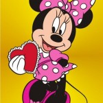 Minnie with a heart 1