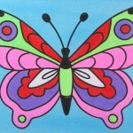 Just Crafty sand art parties Butterfly 2